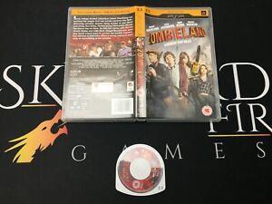 Zombieland-Sony-PSP-UMD-Disc-Movie-TESTED-WORKING