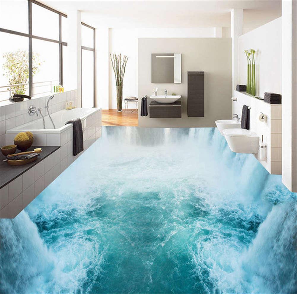 Splendid Nappe 3D Floor Mural Photo Flooring Wallpaper Home Home Home Print Decoration e12d2f