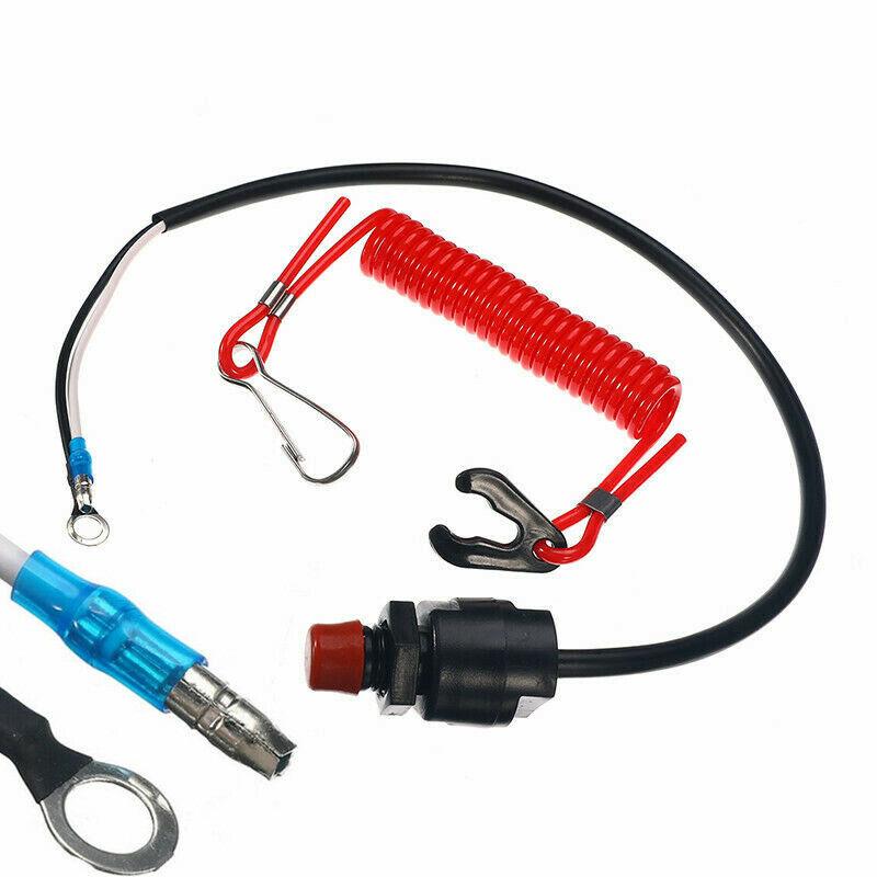s l1600 - Motor Fueraborda Kill Interruptor Piezas Seguridad Cordel Protección Accesorios