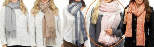 Choose designer NEW Ladies luxury thick warm scarf Tom Franks /& Foxbury