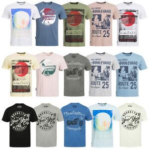 769d910d99fa5d STH. SHORE Herren T-Shirt S M L XL XXL Kurzarm Tee Freizeit Sport ...