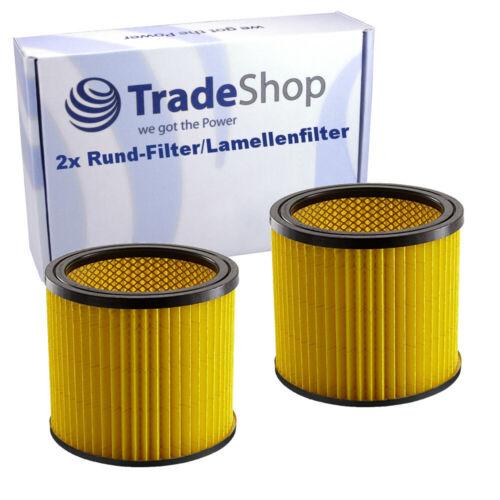 2x-Cartouche filtre pour Einhell TH-VC 1820 S TH-VC 1820//1 S TH-VC 1930 SA