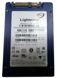 Details About Pliant Lightning Lb400m 400gb Sff 2 5 Sas Enterprise Mlc Ssd Efd
