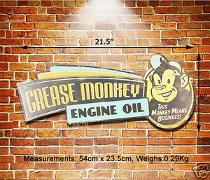 Grease Monkey Engine Oil Embossed Metal Sign Gas Oil Make Your Own Beautiful  HD Wallpapers, Images Over 1000+ [ralydesign.ml]