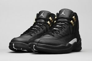 online store d5073 641e3 Details about Air Jordan Retro 12 XII The Masters Black Gold 130690 013  size 8.5