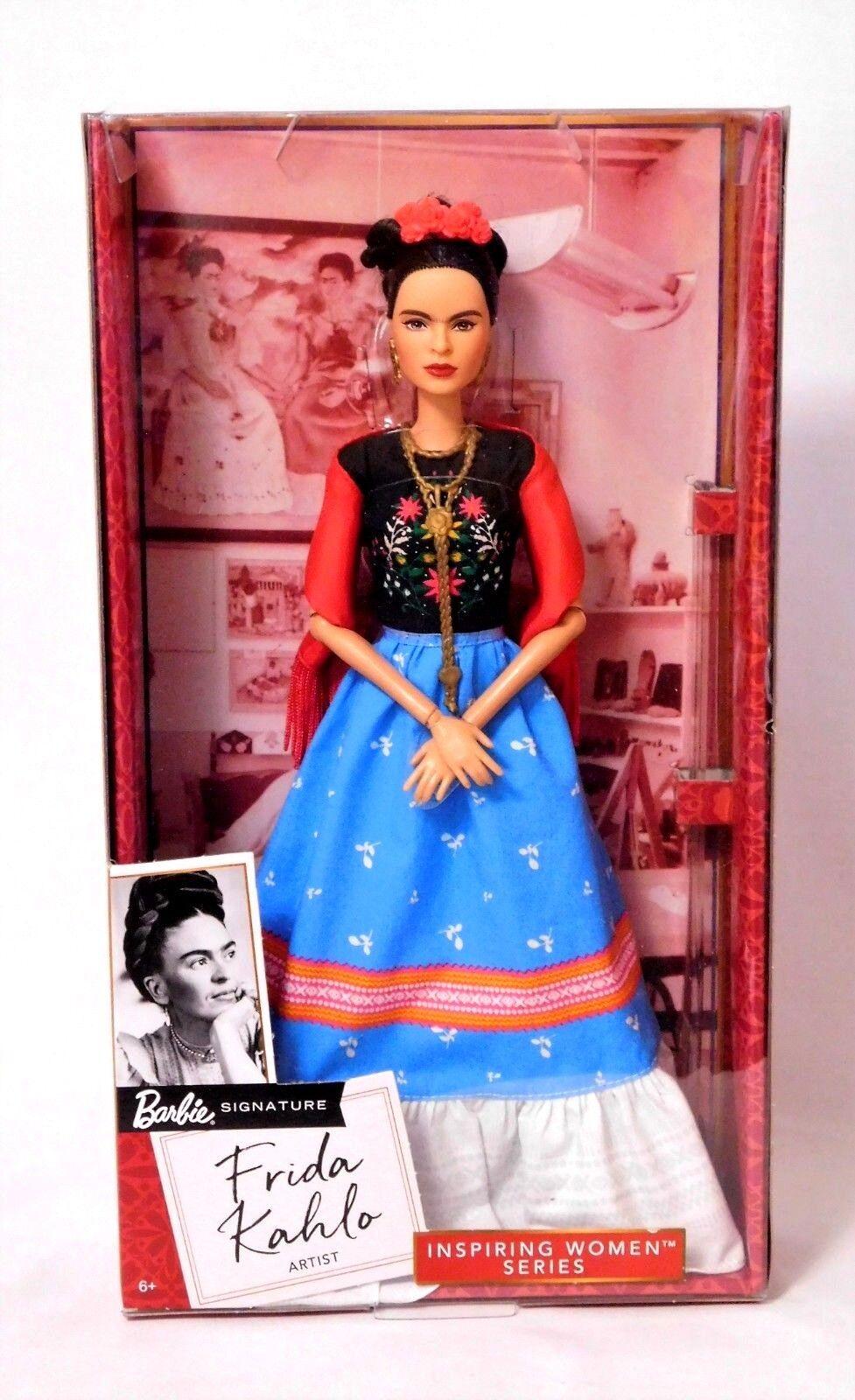 Frida Kahlo (activista artista) inspirador mujeres 2018 Barbie _ FJH65 _ en Caja Original ___  última
