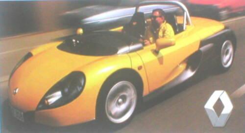 Renault SPIDER Road Test Brochure Lotus ELISE vs