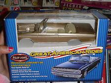 POLAR LIGHTS 1965 DODGE CORONET CONVERTIBLE GOLD 1/25 Model Car Mountain KIT FS