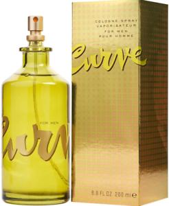 Curve Cologne for Men by Liz Claiborne 6.8 oz Spray 6.7 New in Box