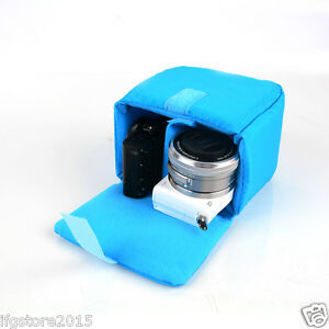 Image Is Loading New Ifg Camera Insert Parion Padded Bag Blue