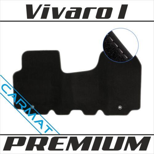 Opel Vivaro I Bj 2001-2014 Premium Fussmatten Autoteppiche