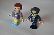 BRIO POLAR EXPRESS Figures :  CONDUCTOR  and WAITER  /  Considered rare, retired