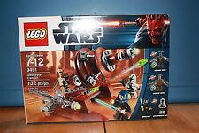 Lego 9491 Star Wars Geonosian Cannon 132 Pieces