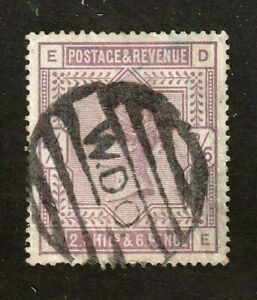 Great-Britain-stamp-85-used-4-margins-Queen-Victoria-SCV-200