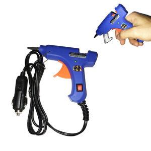 12V-Mini-Schmelzklebepistole-Anti-Hot-Cover-Auto-Sag-Heissklebepistolen-20-Watt