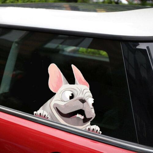 1x 3D Lovely Cartoon Dog Car-Styling Window Decal Sticker Decoration 22 x 16cm