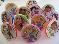 12 Little Einsteins Rings Cupcake Toppers - Birthday Party Favor Cake Pinata Toy