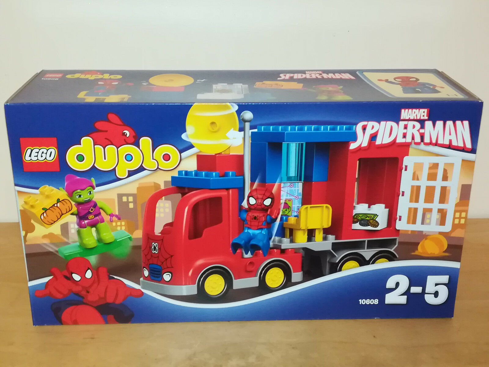 LEGO DUPLO 10608 SPIDER-MAN SPIDER CAMION avventura Nuovo_5 include verde Goblin