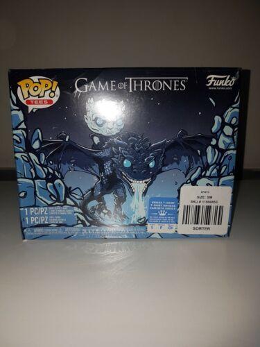 Funko pop Game Of Thrones #22 Pop /& Tee Icy Viserion