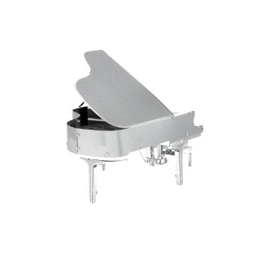Grand Piano Fascinations Metal Earth 3D Laser Cut Musical Instrument Model Kit