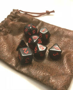 BlizzCon Exclusive 2016 Diablo III Gaming DnD Dice Set by Blizzard Entertainment