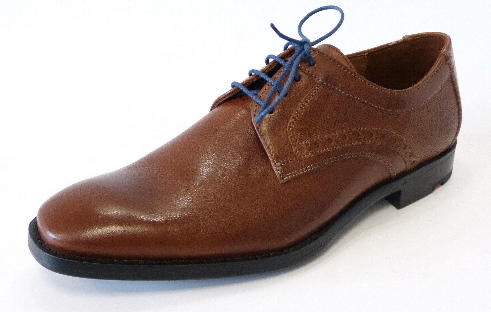 Lloyd Business Schnür Schuh Dolan 27-583-11 reh braun blau Leder Gummisohle