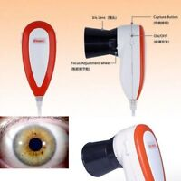 Led 5.0 Mp Usb Iriscope Iris Analyzer Iridology Camera Pro Iris Software Eye Uk