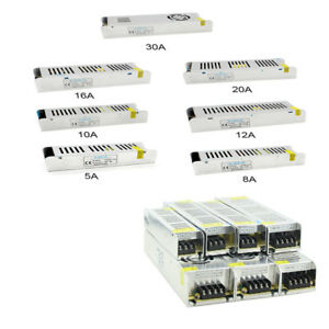 1X-12V-5-10-21-30A-Sub-Mini-Universal-Regulated-Switching-Power-Supply-For-LED