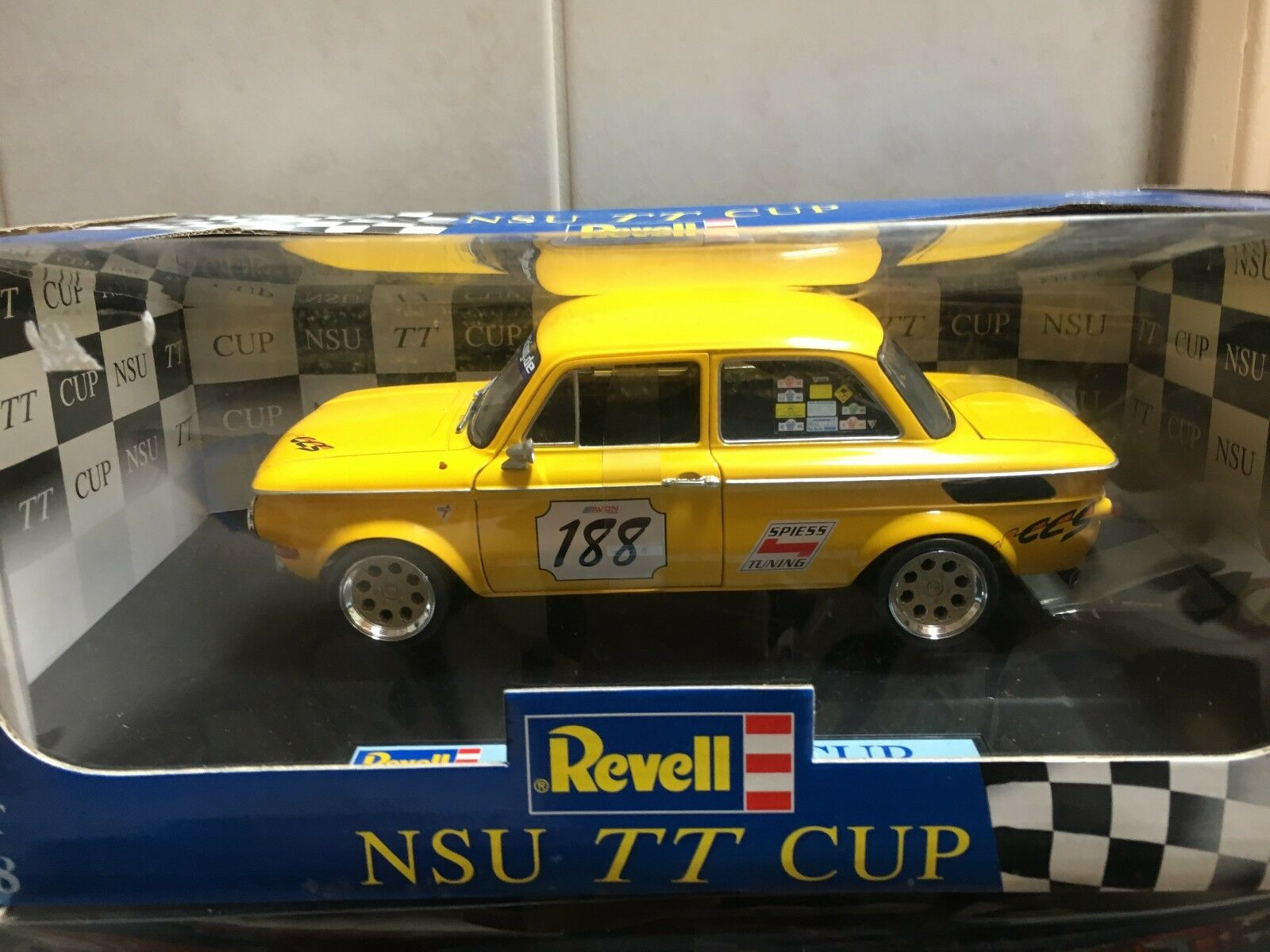 Revell NSU TT Cup TTS Racing 08456 188 VERY RARE Old Stock