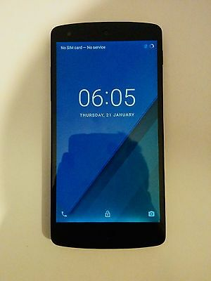 LG Google Nexus 5- Black- 32GB- Good Condition - Unlocked