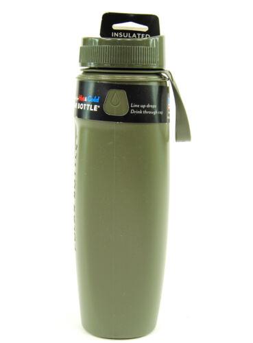 Polar Ergo Spectrum Insulated Bottle Aqua Blue Olive 22oz