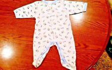 Infant Boys sleeper pajamas size med