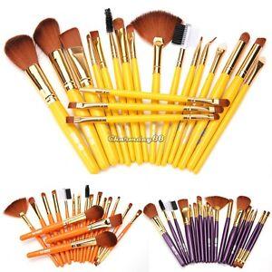 19Pcs-Professional-Make-Up-Brush-Set-Foundation-Blusher-Kabuki-Brushes-Set