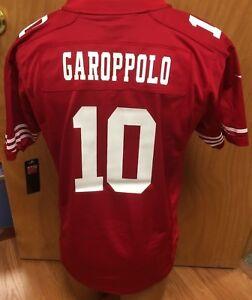 448d26b8e NEW-Jimmy-Garoppolo-San-Francisco-49ers-Nike-NFL-Youth-Jersey Size ...