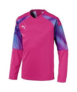 ff5d6c844ae Puma Evo Cup DryCell Soccer Goalkeeper Goalie Jersey Brand New Pink ...
