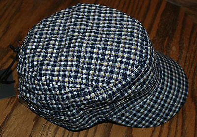 NWT LIFE IS GOOD WOMEN/'S CAMPOUT CADET CAP TWEED BROWN SM-MED