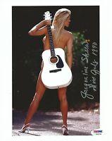 Jacqueline Sheen Signed Playboy 8x10 Photo PSA/DNA COA July 1990 Playmate Auto 0