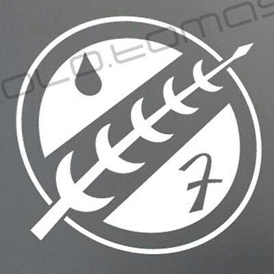 BOBA FETT Chest sticker decal Star Wars Empire Strikes Back Mandalorian Jango
