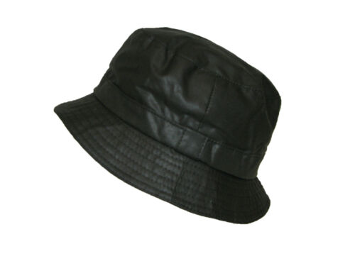 DH Superb 100/% Cotton Oil Waxed Bush Wax Bucket Hat with Tartan Lining