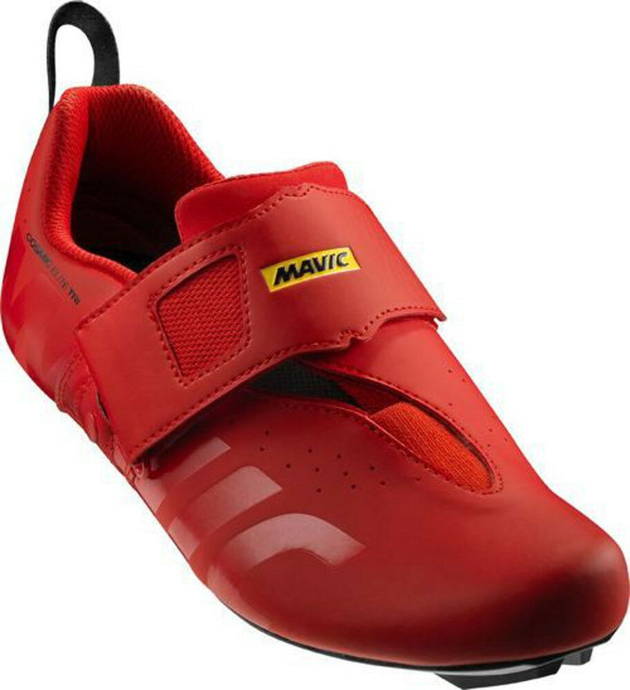 Mavic Cosmic Elite TRI Bike shoes Red