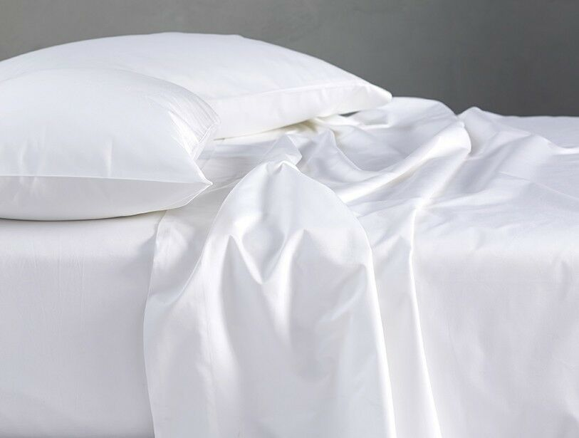 100% EGYPTIAN COTTON 200   300   500 COMPLETE DUVET COVER & FITTED SHEET BED SET