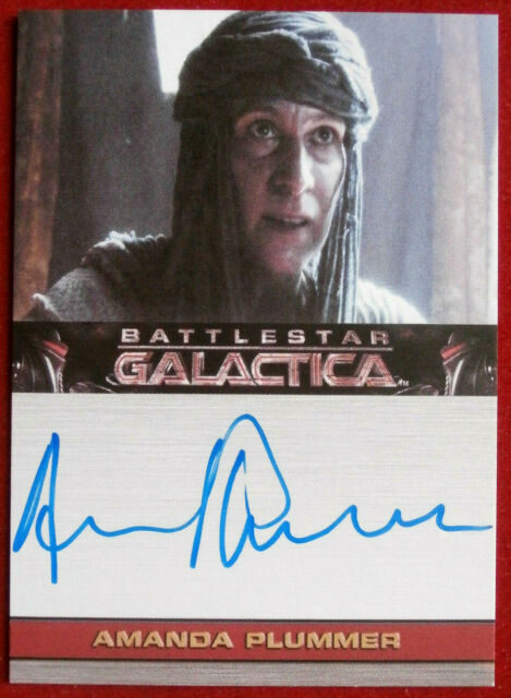 BATTLESTAR GALACTICA - AMANDA PLUMMER as Oracle, AUTOGRAPH CARD - Rittenhouse