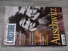 $$ Revue Les collections de l'Histoire N°3 Auschwitz La Solution finale