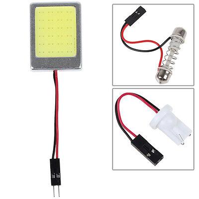 8W T10 COB 48 Light Points LED Festoon Dome T10 Car Drive Lamp Fog Light DC12V