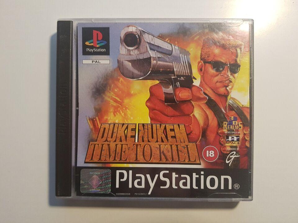 Duke Nukem, Time to kill, PS