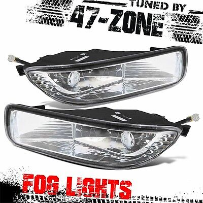 For 2009-2010 Toyota Corolla Clear Lens Chrome Housing Replacement Fog Light