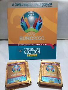 ALBUM+100 BUSTINE IN OMAGGIO UEFA EURO 2020 Tournament Edition Collection!!