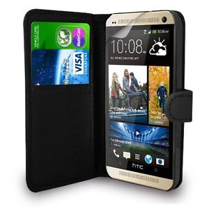 new style afe26 17329 Details about HTC DESIRE 820 - Leather Book Wallet Flip Case Cover + Free  POST