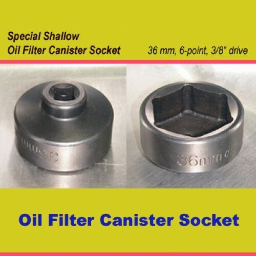 Ford Turbo Diesel F350 F250 6.0 36mm oil filter wrench