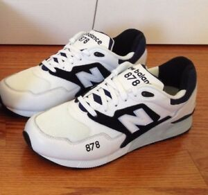 cdc00bf69e16 New Balance 878 Men Running Shoes ML878AAA White   Black Size 11 ...